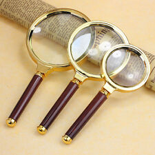 Handheld10X Magnifier Magnifying Glass Loupe Reading Jewelry Newest