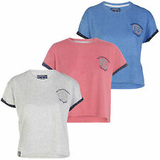 Womens/ Ladies Tokyo Laundry T Shirt 'Joy' Embroidery And Double Layer Print