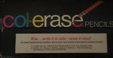 Col Erase Pencils Faber-Castell Box Erasable Drawing Art Engineering diff. col