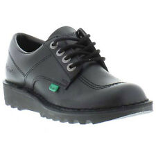 Kickers Kick Lo Kids Junior Classic Leather Work / School Shoe Sizes UK 3 - 6