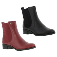 Hush Puppies Lana Chamber Womens Waterproof Leather Ankle Boots Sizes UK 4 - 8