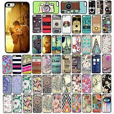 For iPhone4 4S 5 5S 5C Painted Style Beautiful Scenery Lovely Case Cover Skin