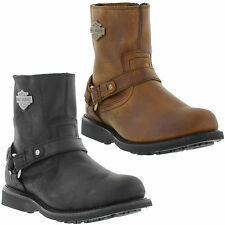 Harley Davidson Scout Harness Leather Riding, Motorcycle Boot Mens Size UK 7-12
