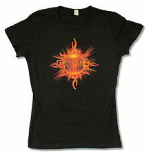 "GODSMACK ""SUNSHINE"" BLACK BABY DOLL T-SHIRT NEW JUNIORS"