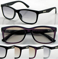 SR427 Light Tinted Bifocal Lens Reading Glasses+50+75+1.+100+1.25+125+1.5+150+2.