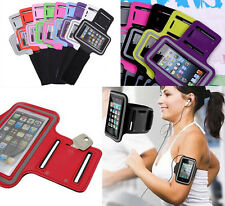 Outdoor Gym Sport Workout Running Adjustable Armband Case Cover For iPhone SE 5S