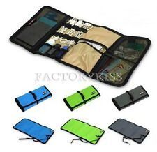 Portable Earphone Cable USB Flash Disk Card Organizer Storage Bag IND