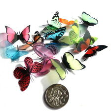 Mini - Small Butterflies - 3D, 10 Colours to choose from - Cake - Cupcakes
