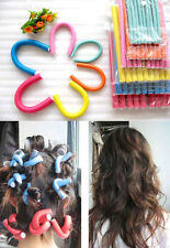10pcs hair curler SOFT TWISTY Foam Hair Dressing Bendy Curly Rollers 6 Sizes