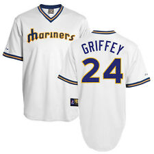 Ken Griffey Jr 1977 Seattle Mariners Cooperstown Home Jersey Men's (S-2XL)