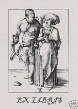 EX LIBRIS BOOKPLATE The Cook and His Wife