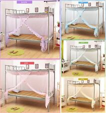 Hight QC Four Corner Poster Canopy Bed Mosquito Net Twin Size Dormitory Use