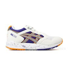 Asics Gel Saga (White/Light Grey) Orange Purple Men's Shoes H423N.0113