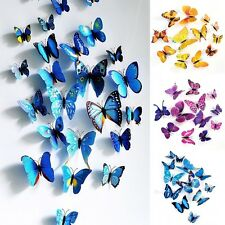 Sticker Art Design Decal Wall Stickers Home Room Decor  3D Butterfly