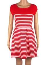 New x French Connection Red and White Stripe Dress 4-14