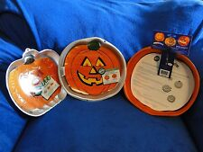 NEW VINTAGE WILTON PUMPKIN JACK O LANTERN CAKE PANS, YOU PICK FROM THREE,