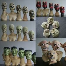 Rare Halloween Scar Mummy/Monster/Pig Face Masks Latex Mask for Night Party Cool