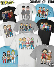 VIPwees Mens T-Shirt Comedy Movie Inspired Funny Caricatures Choose Your Design