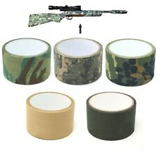 5cm x 5m Army Camo Rifle Shooting Hunting Fishing Camouflage Stealth Wrap Tape