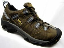 Keen Detroit Low ESD Steel Toe Shoes Mens Dark Brown