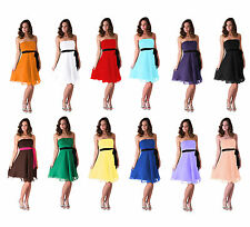 Elegant Bridesmaid Wedding Party Prom Ball Evening Formal Dress Xs S M L Xl 2Xl