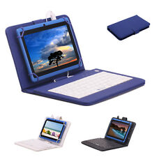 """IRULU X1 7"""" Tablet 8GB Android 4.2 Dual Core Cam 1.5 GHz WIFI Blue w/ Keyboards"""