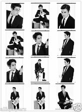 Super Junior Wall Hanging Kpop SM TOWN Stars Photo Poster