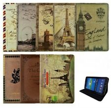 """PU Leather Case Cover for Galaxy Tab3 10.1"""" P5200 8"""" T3100 7"""" P3200 &all Samsung"""