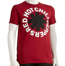 OFFICIAL LICENSED RED HOT CHILI PEPPERS ADULT MENS S/S RED 2XL XXL T-SHIRT BNWT