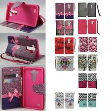 For LG G3 (2014) Cell Phone Case Hybrid PU Leather Wallet Pouch Flip Cover
