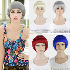 2014 Hot Cool Bobo Style Full Wigs Short Straight Hair Cosplay Weave Wig