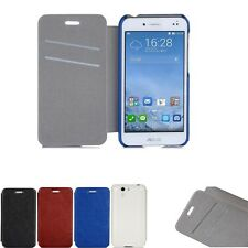 Pull up Leather Case Cover Card Wallet Folio Skin For ASUS PadFone S 5 Full HD
