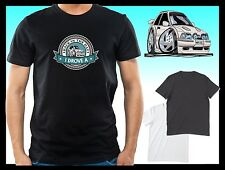 KOOLART BACK IN THE DAY I DROVE A Mk4 FORD ESCORT RST mens or lady fit t-shirt