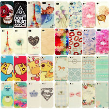 Hot For iphone 4/4S Dream Painted Colorful Soft Case Silicone Skin Back Cover