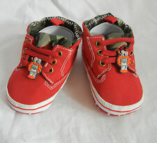 little lion red high top leisure boy shoes toddler  baby boy shoes UK size3,4