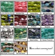 5mm Pinch Czech Glass Beads 50 Choose Color