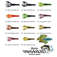 Gary Yamamoto Craw 3.75 Inch Fat Baby 3FS 7 Pack Any Color Crawdad Senko Style