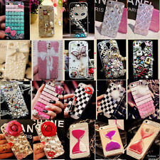 NEW LUXURY 3D Crystal Diamond BLING Hard Case Cover Skin FOR Huawei Ascend