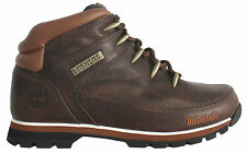 Timberland Euro Sprint Brown Lace Up Mens Boys Hiking Leather Boots(6831R D121)