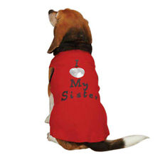 Choose Size - Casual Canine - I Love My Sister - Dog Shirt Tank - Red