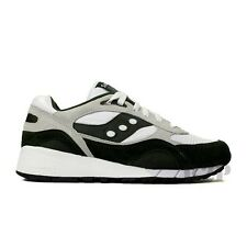 """Saucony Shadow 6000 """"Running Man"""" (White/Green) Men's Shoes 70125-6"""