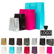 Luxury Paper Gift Bags Paper Carrier Bag Party Bag with Rope Handles