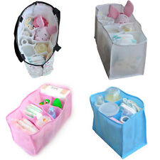 Baby Portable Diaper Nappy Water Bottle Changing Divider Storage Organizer Bag