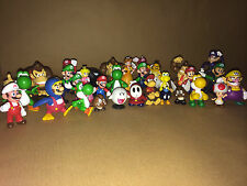 """Super Mario 2"""" Figures - Choose from 26 Characters or Full Sets - Cake Toppers"""