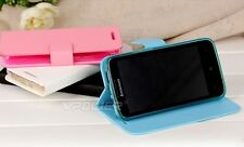 New Colorful Folio Ultra-Thin PU Leather Case For Lenovo A820 cell phone