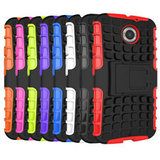 Dual Layer Heavy Duty Case Cover with Kick Stand For Motorola Moto X+1 XT1097