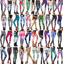Women Galaxy Space Variety Collections Printed Stretchy Tight Leggings Pants