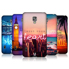 HEAD CASE WORDS TO LIVE BY SERIES 4 BACK COVER FOR LG OPTIMUS L7 II DUAL P715
