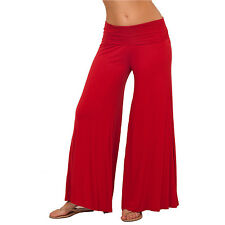 Long Gaucho Boho Flare Elephant Wide Leg Chic Sophisticated Casual Sassy Pants