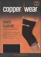 Copper Wear Knee Compression Sleeve Relieve Muscle & Joint Fatigue CHOOSE SIZE